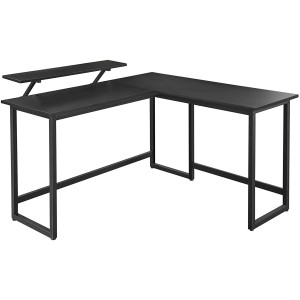 L-alakú számítógép asztal