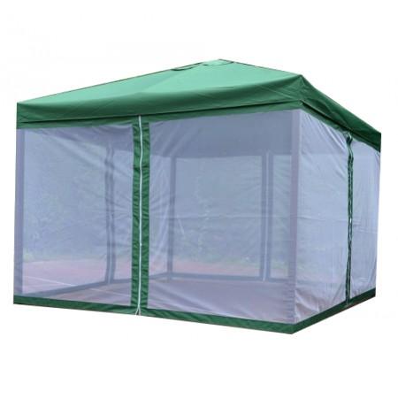 Kerti szúnyoghálós pavilon